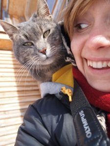 Super friendly cat!